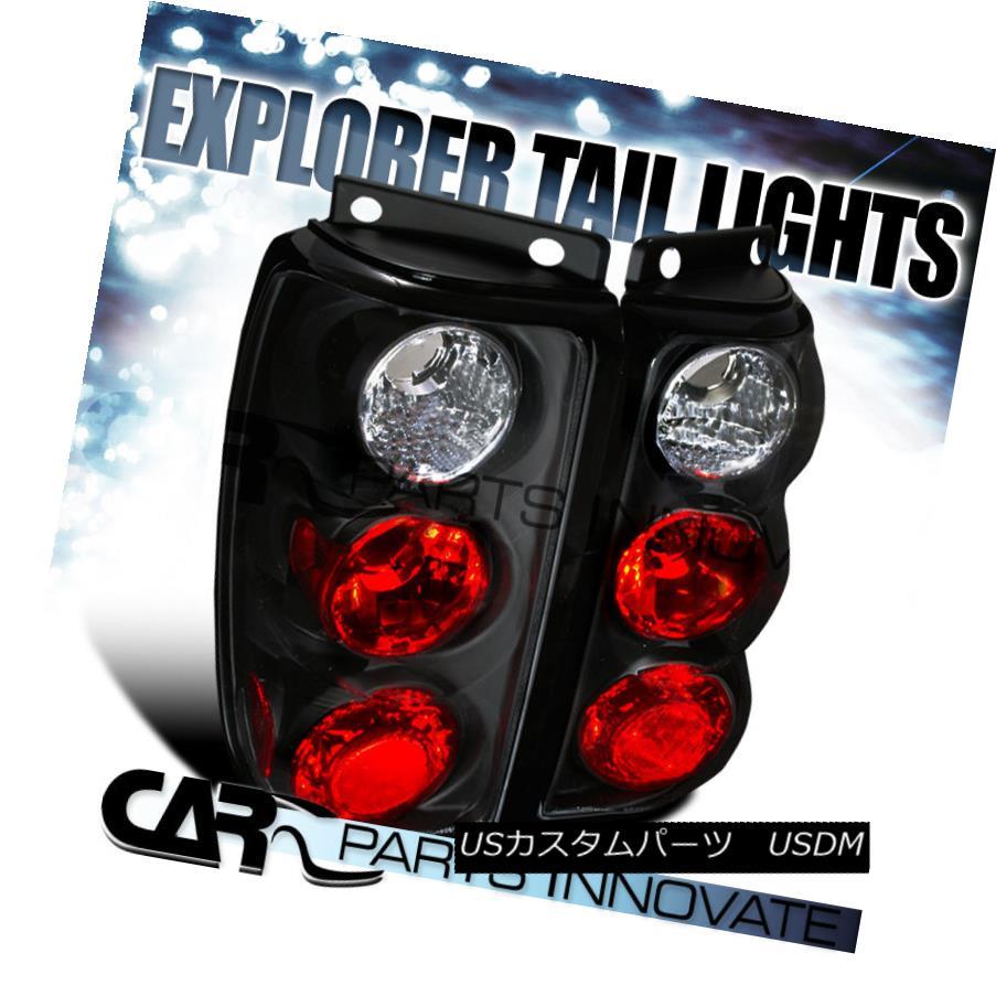 テールライト Ford 95-97 Explorer Tail Lights Rear Brake Lamp Altezza Black フォード95-97エクスプローラテールライトリアブレーキランプアルテッツァブラック