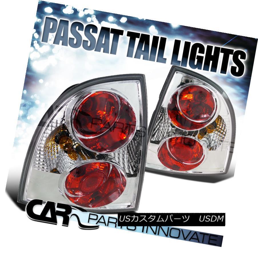 テールライト Fit 2001-2005 VW Passat 4Dr Sedan Chrome Altezza Tail Lights Rear Lamp フィット2001?2005年VWパサート4DrセダンクロームAltezzaテールライトリアランプ