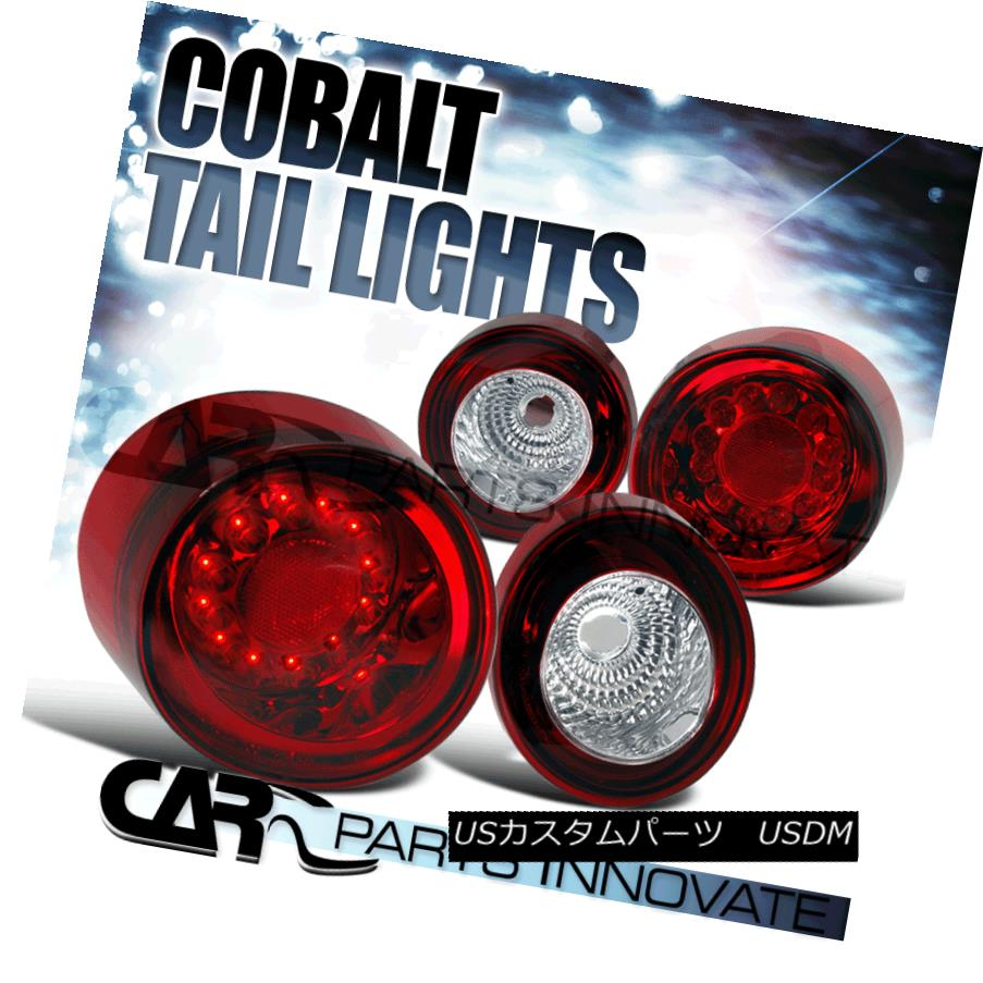 テールライト Chevy 05-10 Cobalt 2Dr Coupe LED Parking Tail Lights Brake Stop Rear Lamps Red Chevy 05-10 Cobalt 2Dr Coupe LEDパーキングテールライトブレーキストップリアライト赤