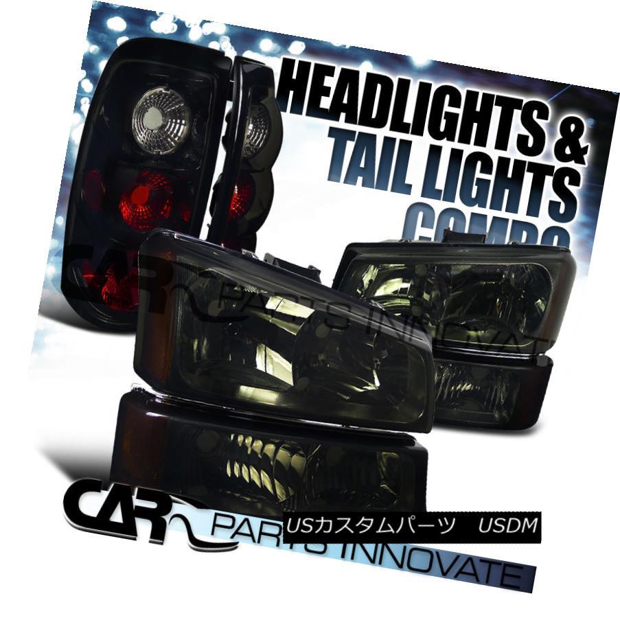 テールライト 03-07 Silverado 03-07 Smoke Crystal Light Headlight+Bumper Headlight+Bumper Lamp+Glossy Black Tail Light 03-07 Silverado煙クリスタルヘッドライト+バンプ erランプ+光沢ブラックテールライト, 留萌市:93e887e1 --- officewill.xsrv.jp