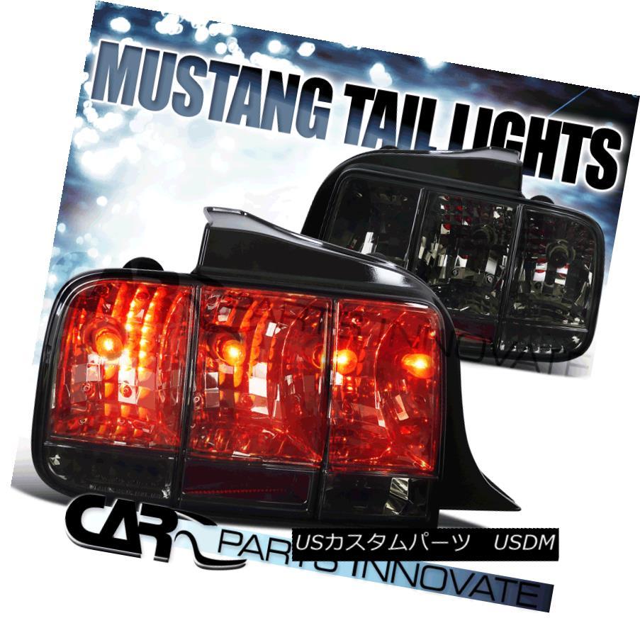 テールライト 05-09 Ford Mustang Sequential Smoke Tail Lights Brake Rear Lamps Turning Signal 05-09フォードマスタングシーケンシャルスモークテールライトブレーキリアタング信号を回す