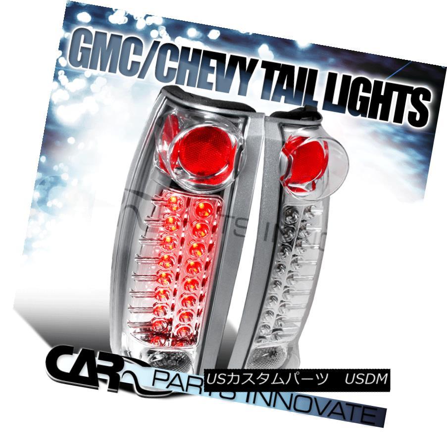 テールライト Chevy GMC C/K C10 Silverado Blazer Tahoe LED Tail Light Rear Lamp Altezza Chrome シボレーGMC C / K C10シルバラードブレザータホーLEDテールライトリアランプアルテッツァクローム