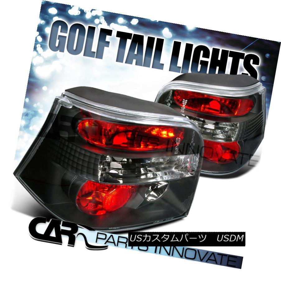 テールライト Fit VW 99-06 Golf Mk4 GTI R32 Tail Lights Brake Rear Lamp Altezza Black フィットVW 99-06ゴルフMk4 GTI R32テールライトブレーキリアライトAltezza Black