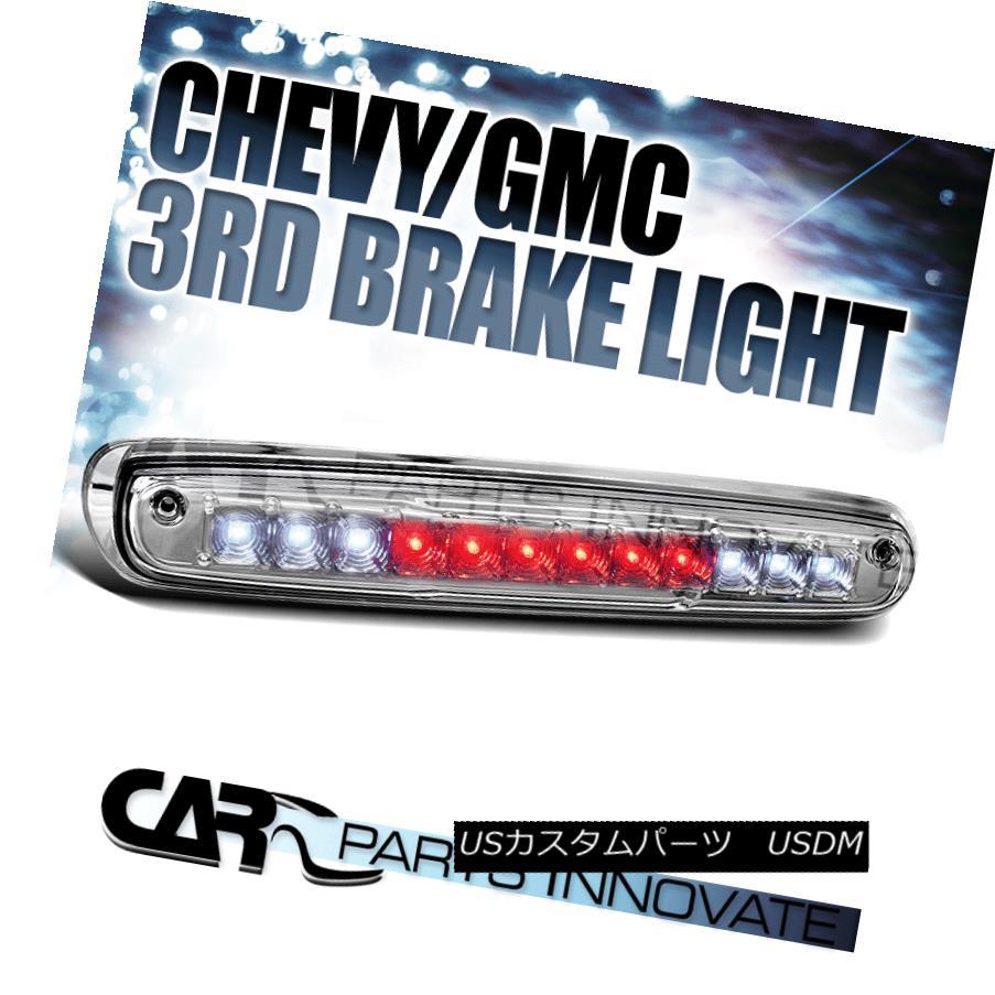 テールライト 2007-2012 Chevy Silverado LED Clear Third 3rd Brake Light 2007年?2012年Chevy Silverado LEDクリア第3回第3ブレーキライト