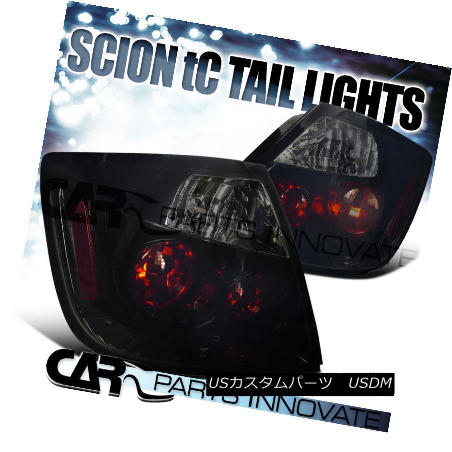 テールライト Piano Black 2004-2010 Scion tC Smoke Altezza Tail Lights Brake Lamps ピアノブラック2004-2010シオンtC煙Altezzaテールライトブレーキランプ