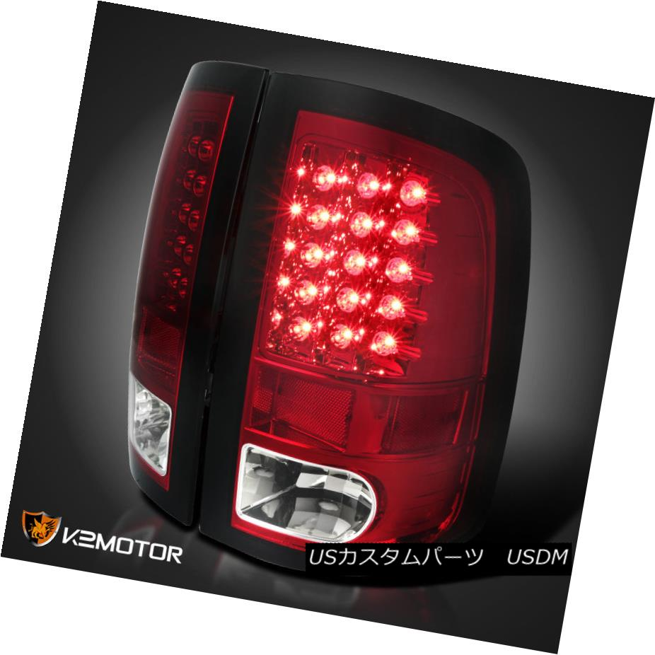 テールライト Red 2009-2017 Dodge Ram Pickup 1500 2500 3500 LED Rear Brake Lamps Tail Lights Red 2009-2017 Dodge Ram Pickup 1500 2500 3500 LEDリアブレーキランプテールライト