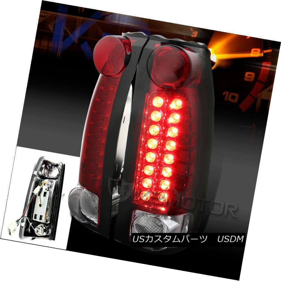 テールライト 1988-1993 Chevy C10 C/K 1500/2500 LED Tail Lights Red 1988-1993 Chevy C10 C / K 1500/2500 LEDテールライトレッド
