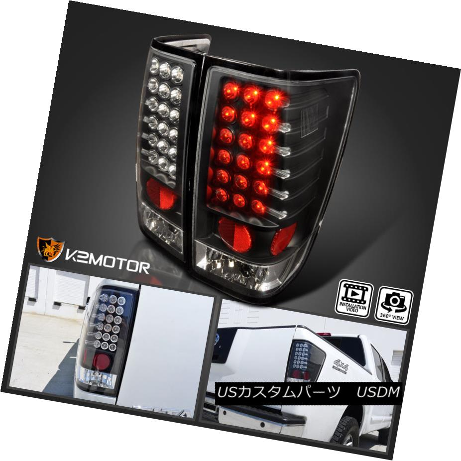 テールライト 2004-2013 LED Tail Stop Lights Black Pair Titan For 2004-2013 Pair Nissan Titan 2004年?2013年のLEDテールストップライトブラックペアNissan Titan, 恵那市:a75b9981 --- officewill.xsrv.jp