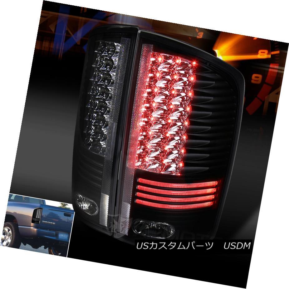 テールライト 2002-2006 Dodge Ram 1500 2500 3500 Pickup Black Clear LED Tail Lights 2002-2006 Dodge Ram 1500 2500 3500ピックアップブラッククリアLEDテールライト