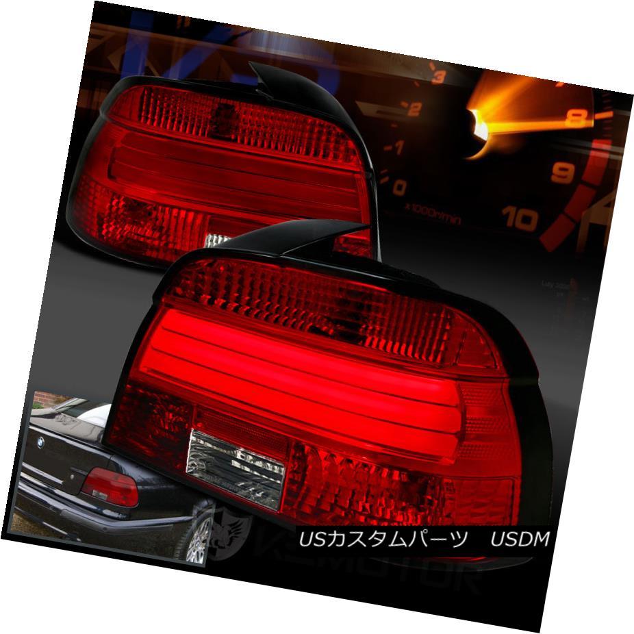 テールライト 2001-2003 BMW E39 5-Series M5 525i 530i 540i Red/Clear Lens LED Tail Lights 2001-2003 BMW E39 5シリーズM5 525i 530i 540i赤/クリアレンズLEDテールライト