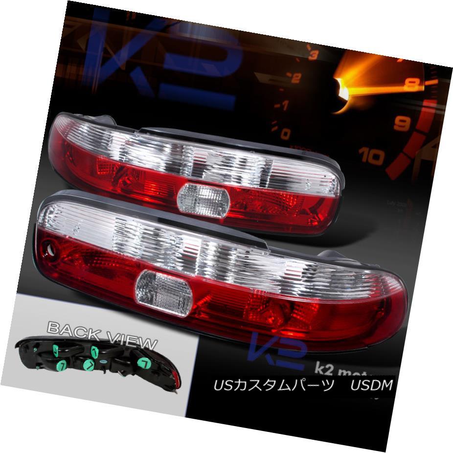 テールライト 1992-2000 Lexus SC300 SC400 JDM Red/Clear Tail Lights 1992?2000年レクサスSC300 SC400 JDMレッド/クリアテールライト