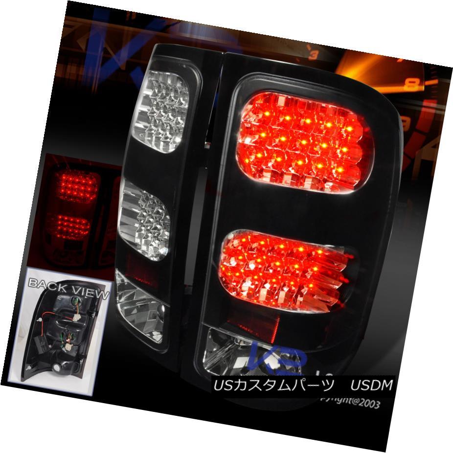 テールライト 2007-2014 GMC 1500 Sierra 1500 2500 Pickup Black LED 2007-2014 LED Tail Brake Lights Pair 2007-2014 GMC Sierra 1500 2500ピックアップブラックLEDテールブレーキライトペア, エバーライフ:bb0876be --- officewill.xsrv.jp