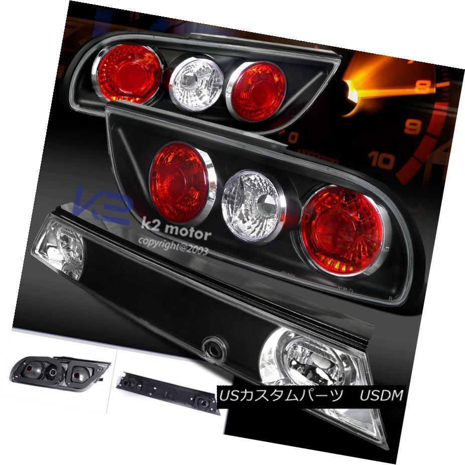 テールライト Jdm S13 Hatchback Black Rear Tail Brake Lights For 89-94 Nissan 240SX Jdm S13ハッチバックブラックリアテールブレーキライトfor 89-94 Nissan 240SX