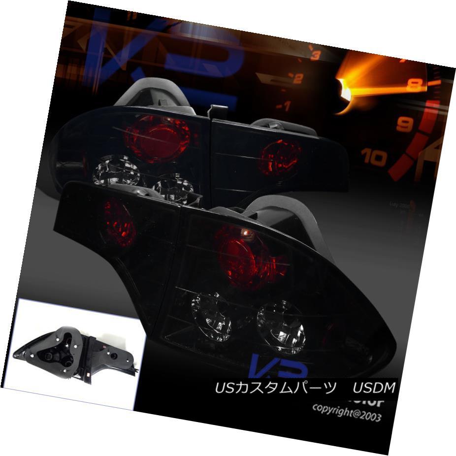 テールライト Glossy Black Fit 06-11 Civic 4Dr Sedan Dark Smoke Tail Lights Brake Lamps 光沢ブラックフィット06-11シビック4Drセダンダークスモークテールライトブレーキランプ