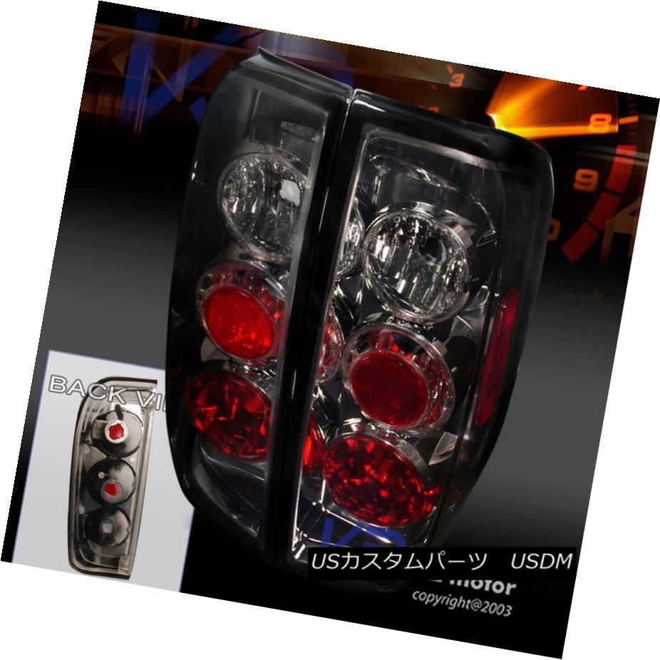 テールライト For 05-14 Nissan Frontier 09-12 Suzuki Equator Smoke Tail Lights Lamps Pair 05-14日産フロンティア09-12スズキ赤道煙テールライトランプペア
