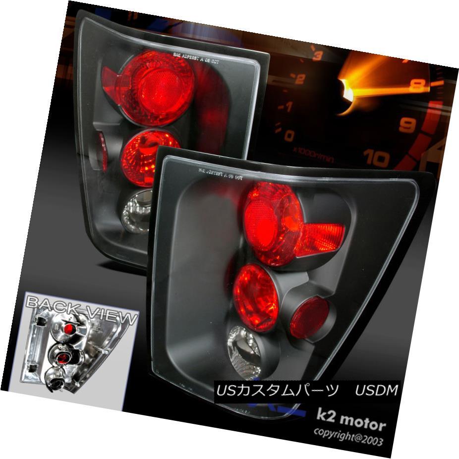 テールライト 2005 2006 Jeep Grand Cherokee Black Tail Lights Lamp 2005年2006ジープグランドチェロキー黒テールライトランプ