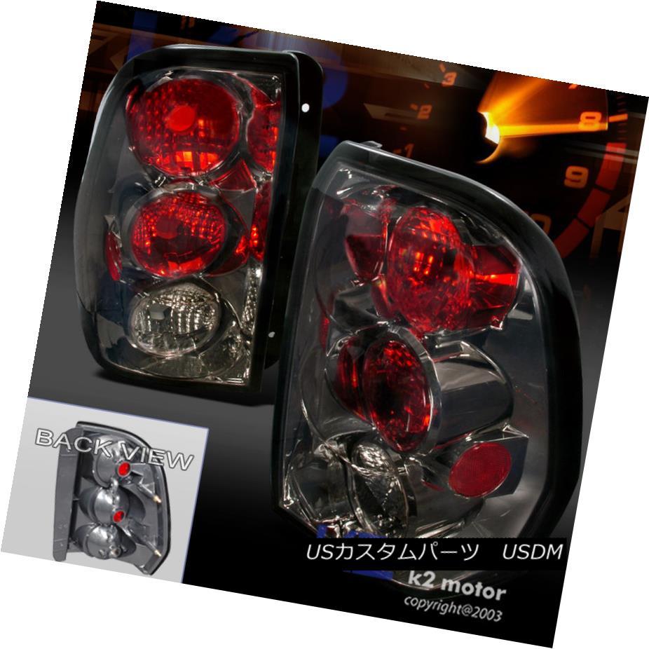 テールライト 2002-2009 Trailblazer Smoke Tail Lights Rear Brake Lamps Replacement Left+Right 2002-2009トレイルブレイカースモークテールライトリアブレーキランプ交換左+右