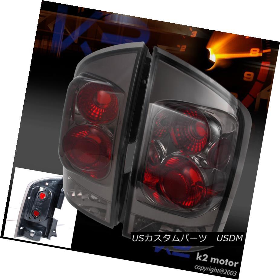 テールライト Euro Smoke Tint Tail Brake Lights LH+RH For 2005-2015 Nissan Armada ユーロスモークティントテールブレーキライトLH + RH 2005-2015 Nissan Armada