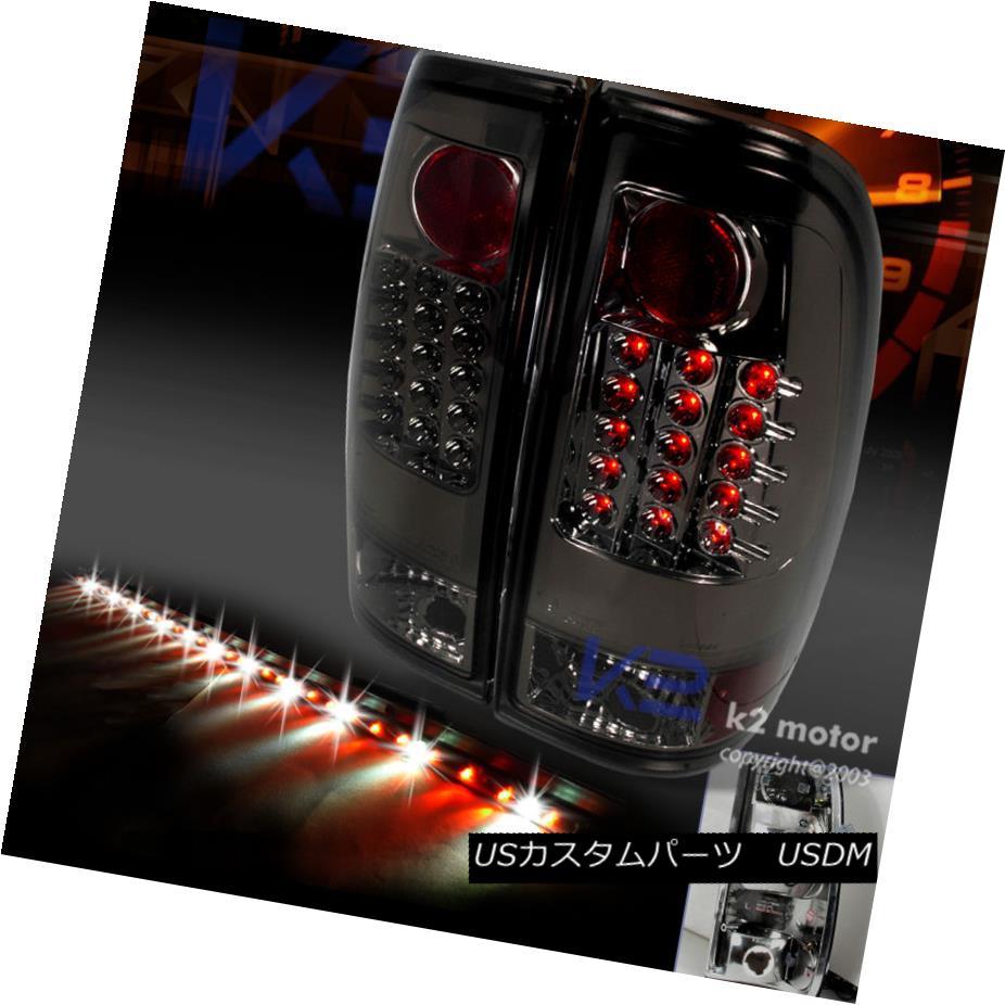 テールライト 1997-2003 FORD F150 STYLE SIDE SMOKE LED TAIL LIGHTS+60
