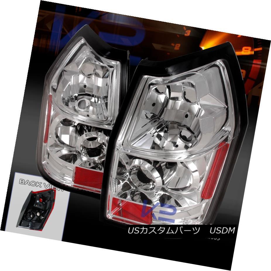 テールライト 2005-2008 Dodge Magnum Chrome Tail Lamps Rear Brake Lights 2006 2007 Replacement 2005-2008ダッジマグナムクロームテールランプリアブレーキライト2006 2007交換