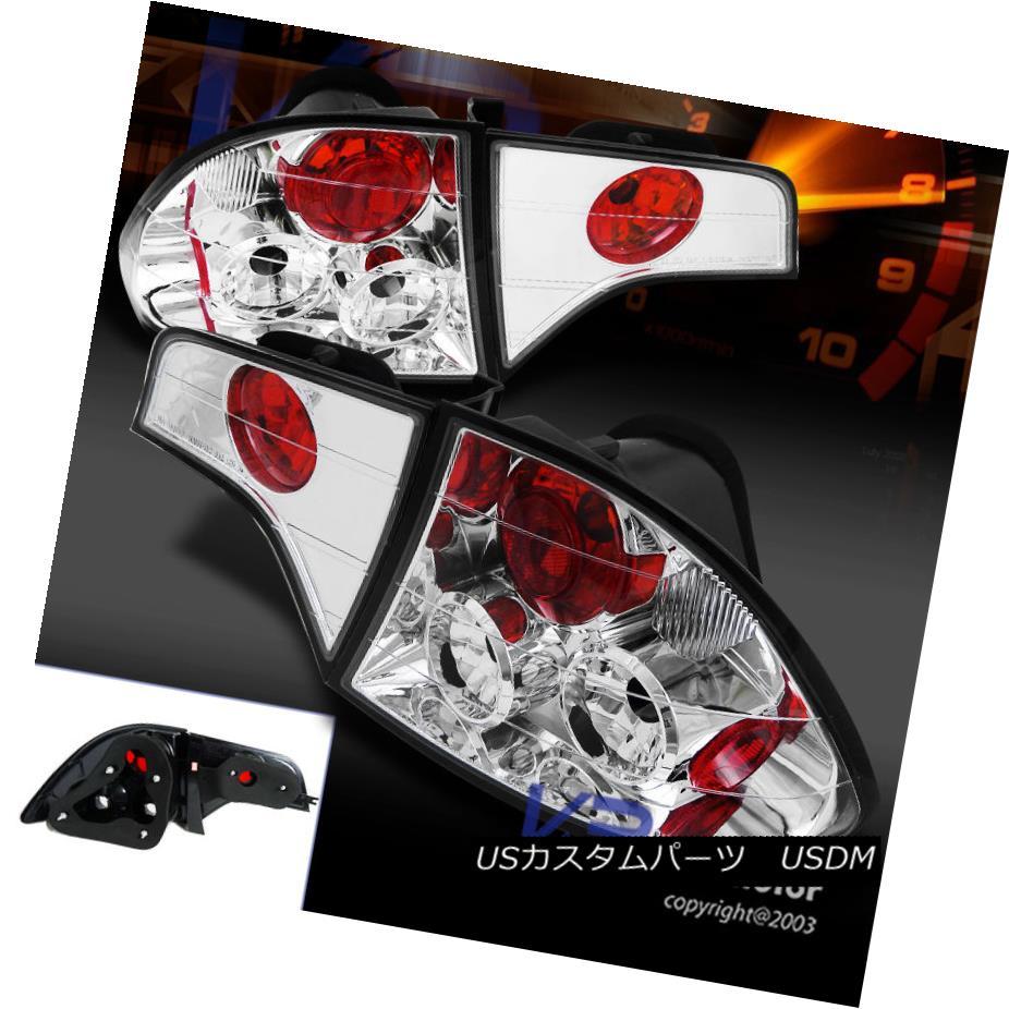 テールライト For 2006-2011 Honda Civic 4Dr Sedan Clear Replacement Tail Lights Brake Lamps 2006 - 2011年ホンダシビック4Drセダンクリア交換テールライトブレーキランプ