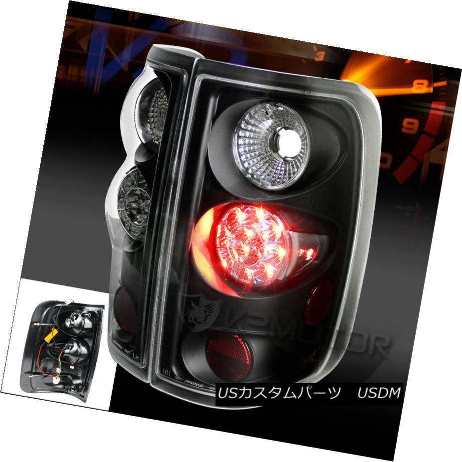 テールライト 2004-2008 Ford F150 Black LED Rear Tail Brake Signal Lights Replacement 2004-2008フォードF150ブラックLEDリアテールブレーキ信号灯の交換