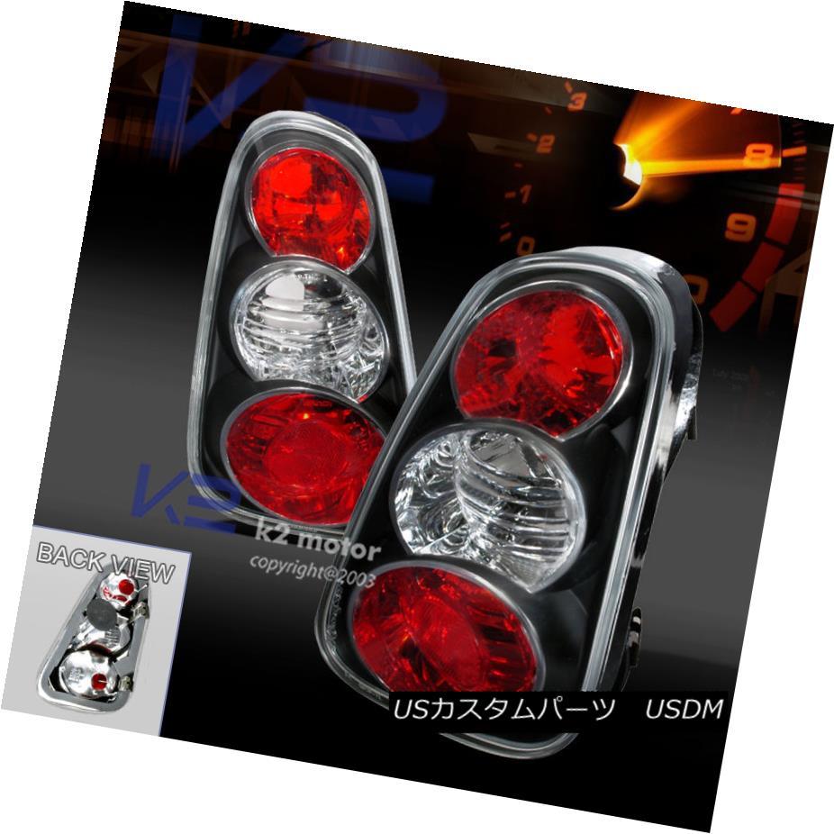 テールライト 02-04 Mini Cooper Black Signal Stop Lamps Tail Rear Brake Lamps Replacement 02-04ミニクーパーブラック信号停止ランプテールリアブレーキランプ交換