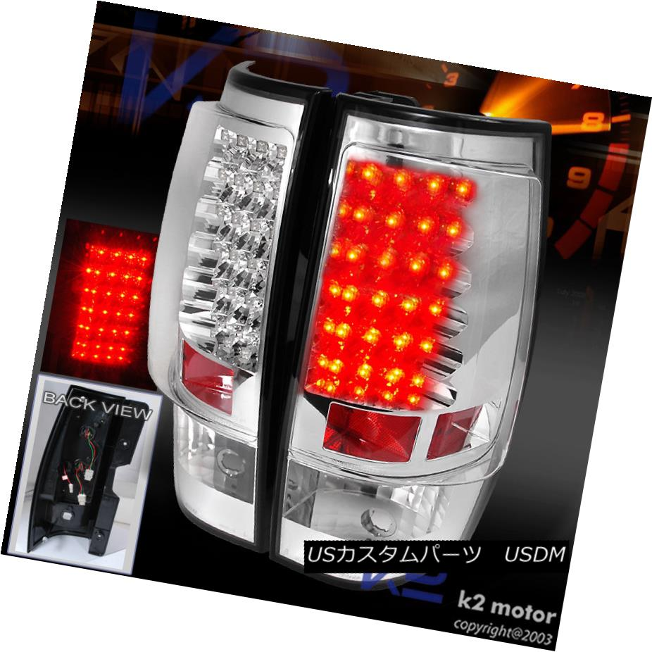 テールライト 2007-2014 2007-2014 Yukon XL Yukon Tahoe Suburban Chrome Suburban LED Tail Lights Brake Lamps 2007-2014 Yukon XL Tahoe郊外のクロームLEDテールライトブレーキランプ, おしゃれ照明ライトのBeauBelle:de793c60 --- officewill.xsrv.jp