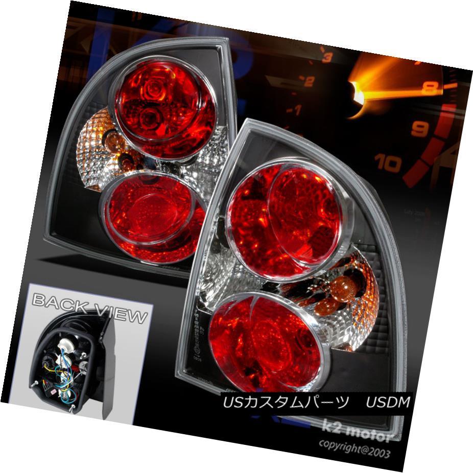 テールライト For 2001-2005 VW Passat 4Dr Tail Lights Rear Brake Lamps Black Pair Replacement 2001?2005年のVW Passat 4Drテールライトリアブレーキランプブラックペアの交換