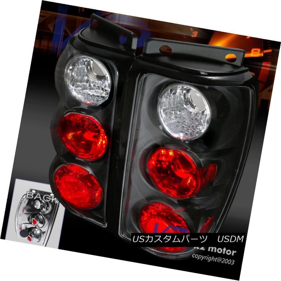 テールライト 1995-1997 Ford Explorer Black Replacement Tail Lights Rear Brake Lamps Pair 1995-1997 Ford Explorerブラック交換テールライトリアブレーキランプペア