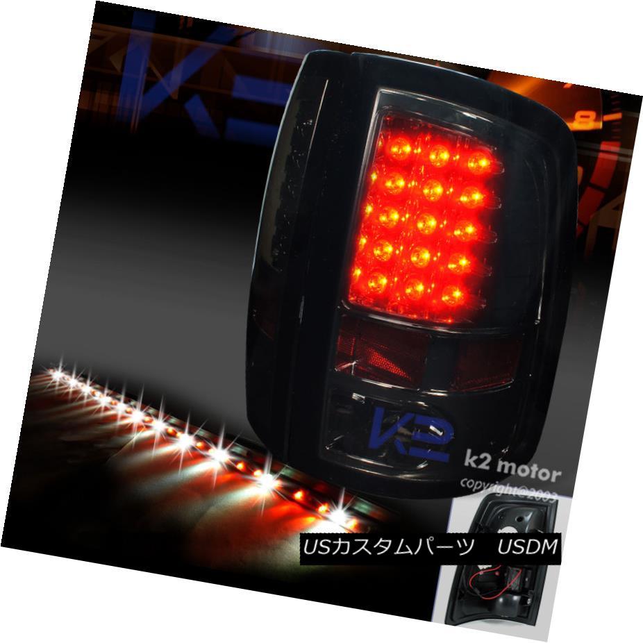 テールライト 2009-2017 DODGE RAM SMOKE LED TAIL LIGHTS+60