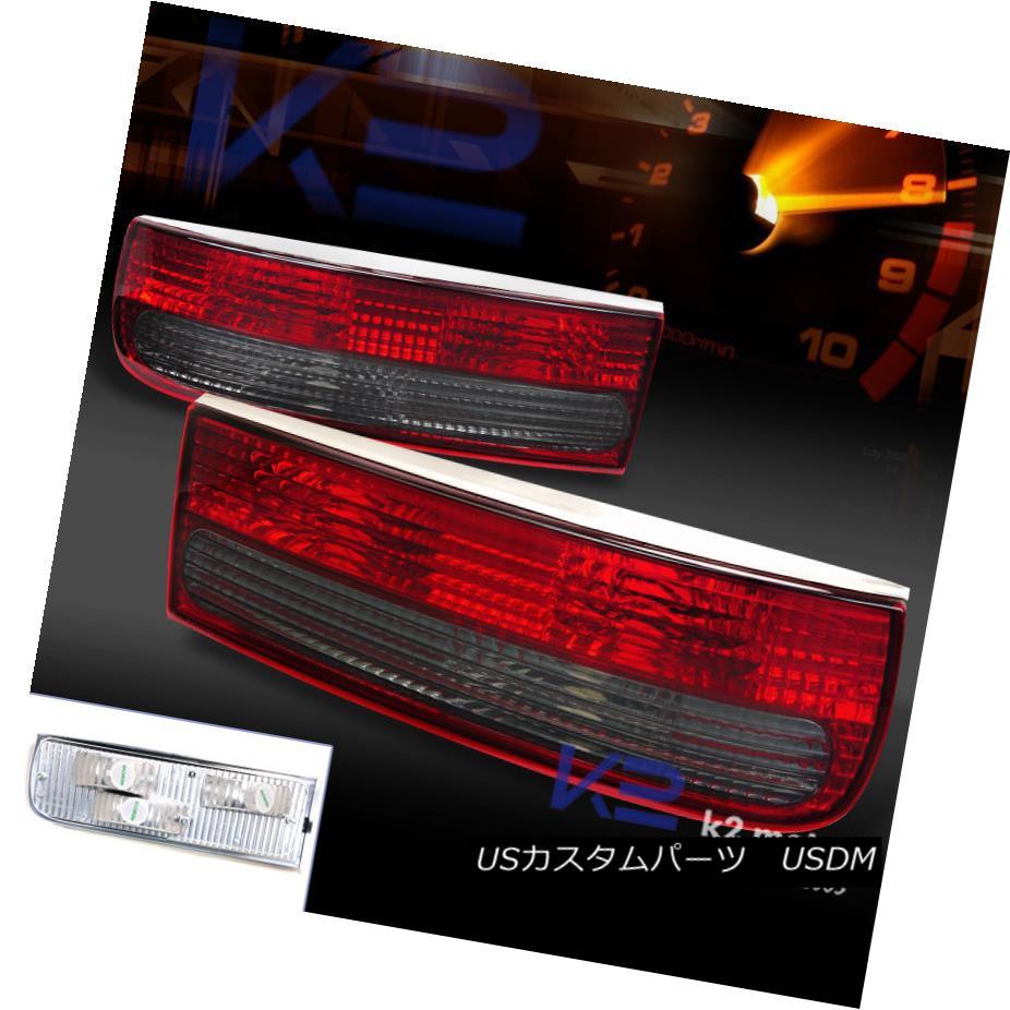 テールライト For 1990-1996 Nissan 300ZX Z32 Fairlady Z Red/Smoke tail Lights 1990-1996 Nissan 300ZX Z32 Fairlady Zレッド/スモークテールライト