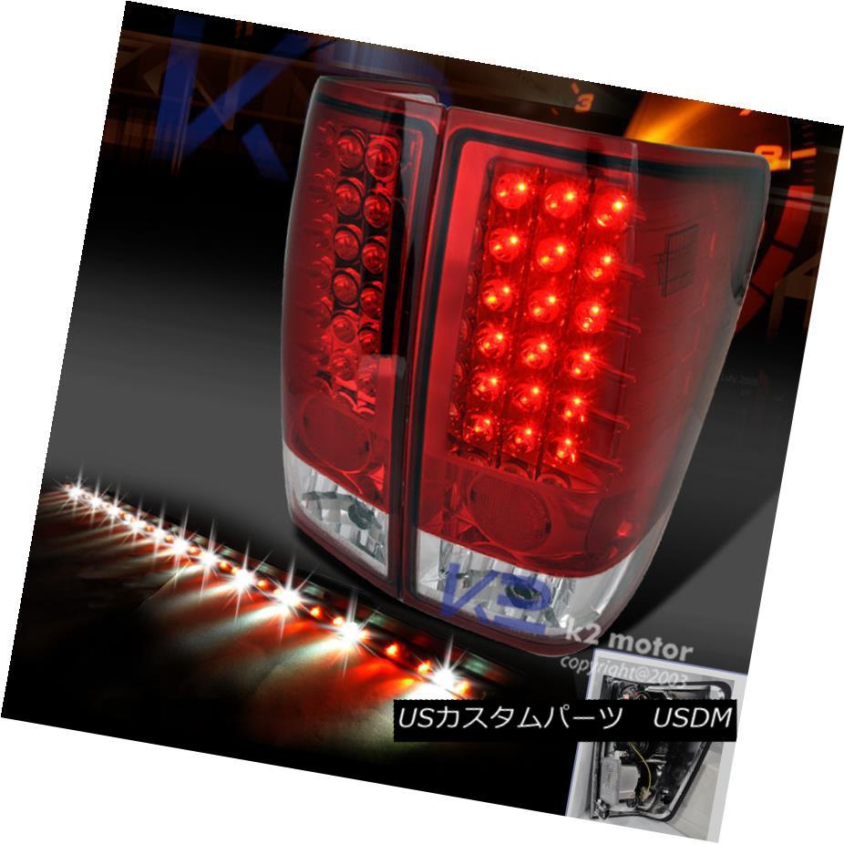 テールライト For 04-13 Titan Red LED Signal LED Tail Lights+60
