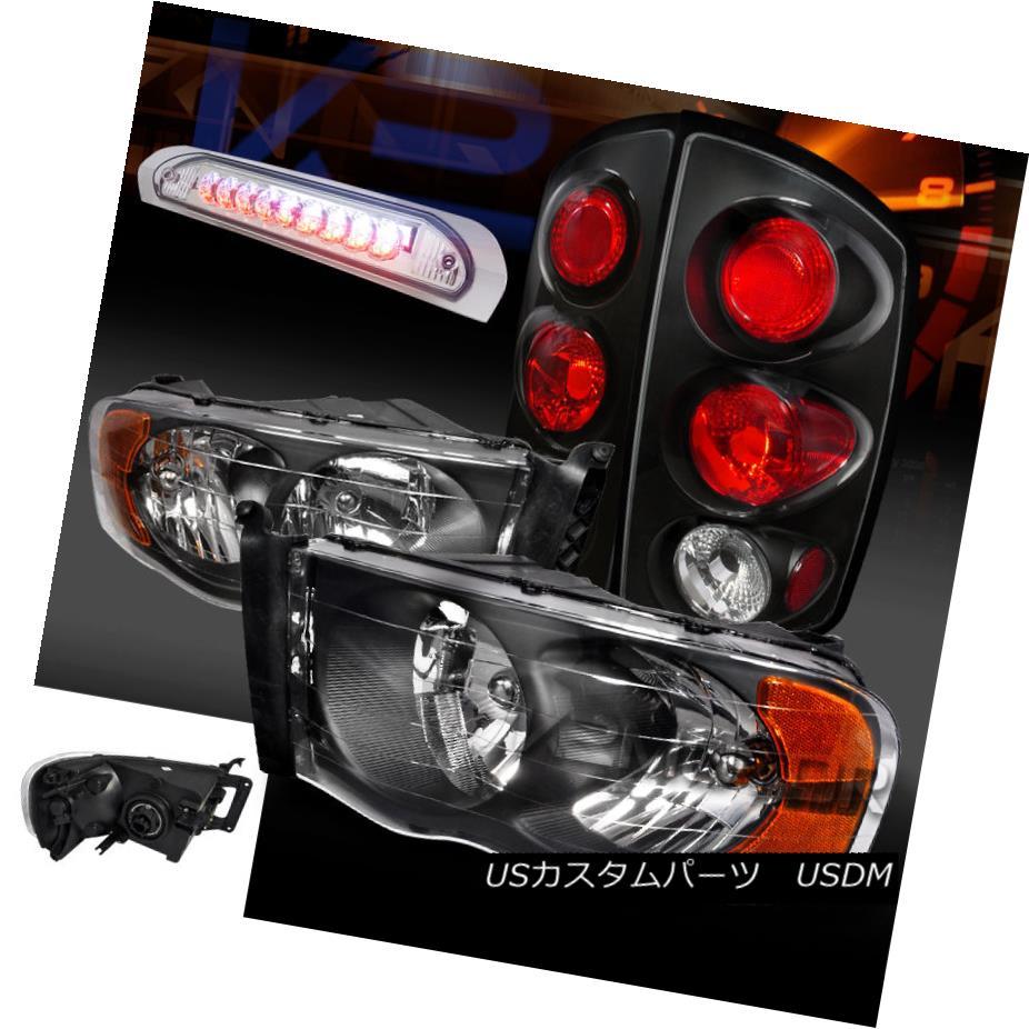 テールライト Lamps+Clear Dodge 1500/2500/3500 02-05 Ram 1500 02-05/2500/3500 Black Headlights+Tail Lamps+Clear LED 3rd Brake ドッジ02-05 Ram 1500/2500/3500ブラックヘッドライト+タイ lランプ+クリアLED第3ブレーキ, スポーツショップサンキュー:97f0ec73 --- officewill.xsrv.jp