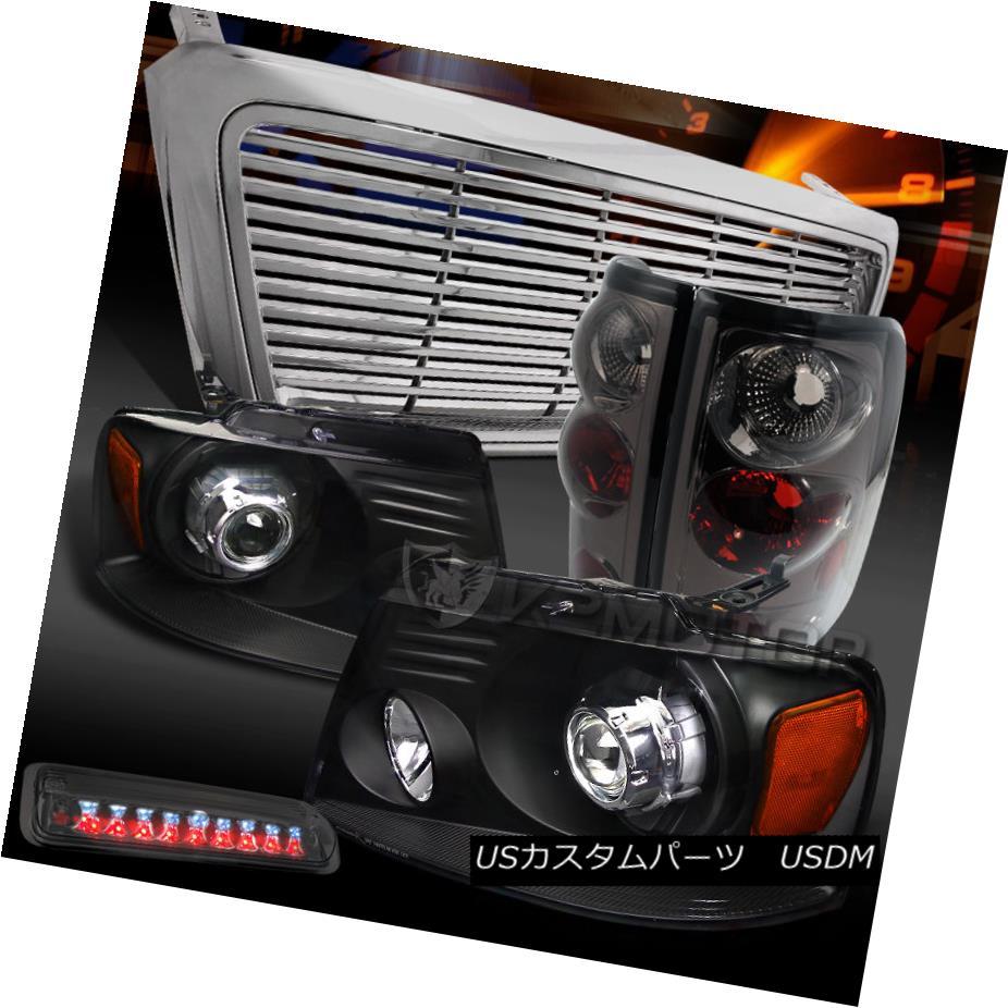 割引購入 テールライト 04-08 F150 テールライト 04-08 Black Grille+Smoke Projector Headlight+Chrome Grille+Smoke Tail LED 3rd Brake Lamp 04-08 F150ブラックプロジェクターヘッドライト+クロ meグリル+スモークテールLED第3ブレーキランプ, 中古楽器専門店 イシバシ楽器U-BOX:5ea9bf46 --- briefundpost.de
