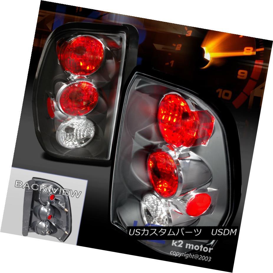 テールライト 2002-2009 Chevy Trailblazer Black Tail Lights Brake Lamp 2002-2009シボレートレイルブレイジャーブラックテールライトブレーキランプ
