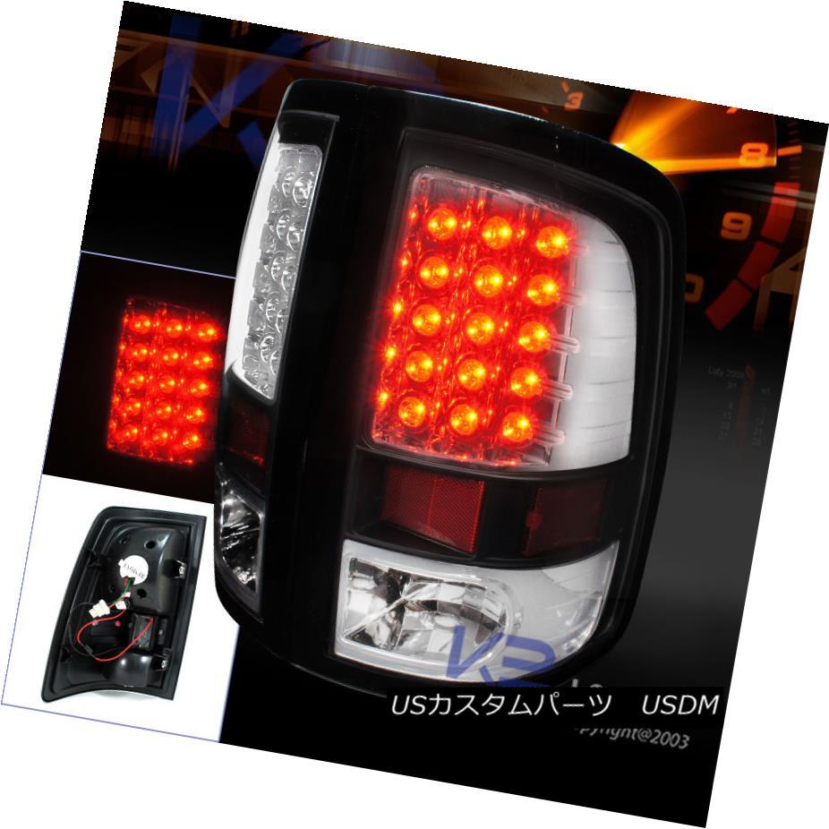 テールライト 2009-2017 Ram 1500/ 2010-2015 Ram 2500 3500 LED Black Brake Lamps Tail Lights 2009-2017 Ram 1500 / 2010-2015 Ram 2500 3500 LEDブラックブレーキランプテールライト