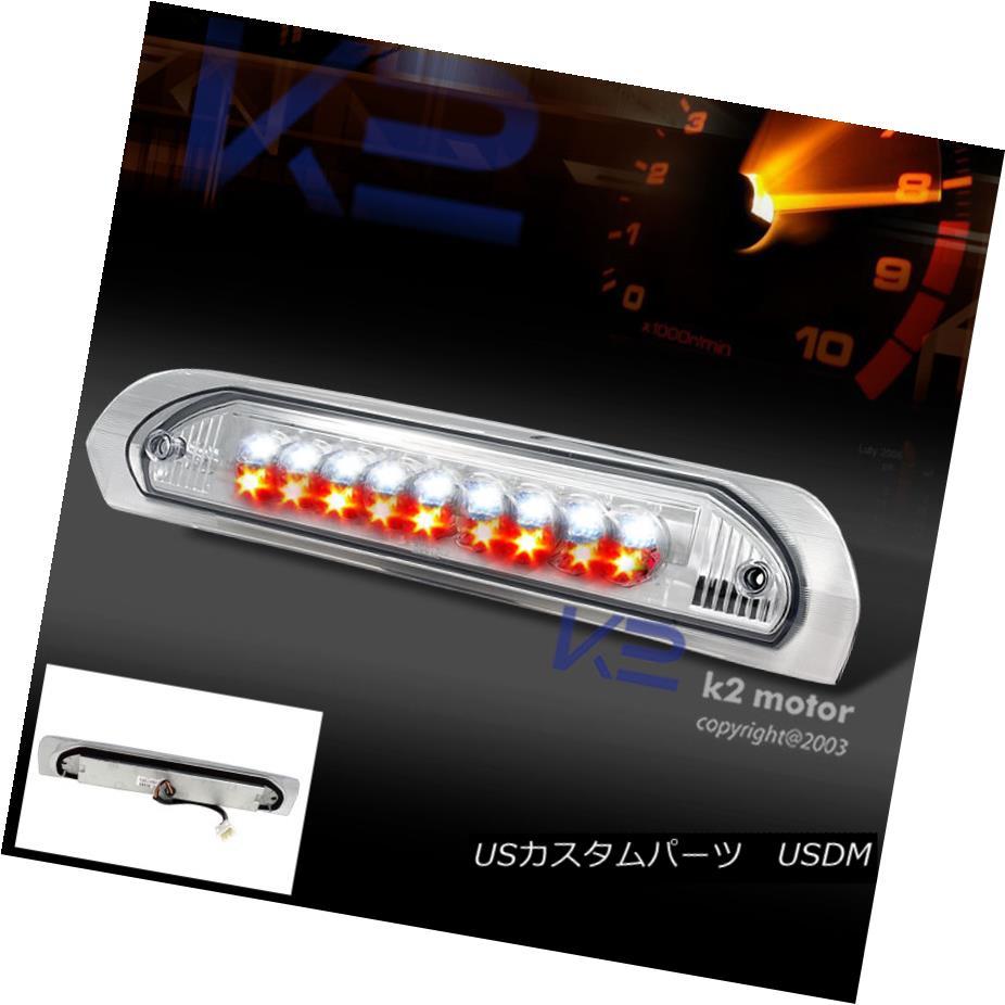 テールライト 2002-2008 Dodge Ram 1500 2500 LED 3rd Brake Light Third Stop Lamp Chrome 2002-2008ダッジラム1500 2500 LED第3ブレーキランプ第3ストップランプクローム