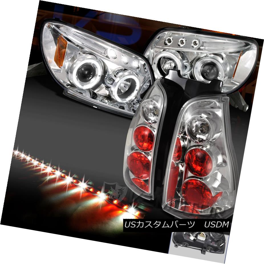 テールライト 2003-2005 4Runner Chrome Halo Projector Headlights+Tail Lamp+49