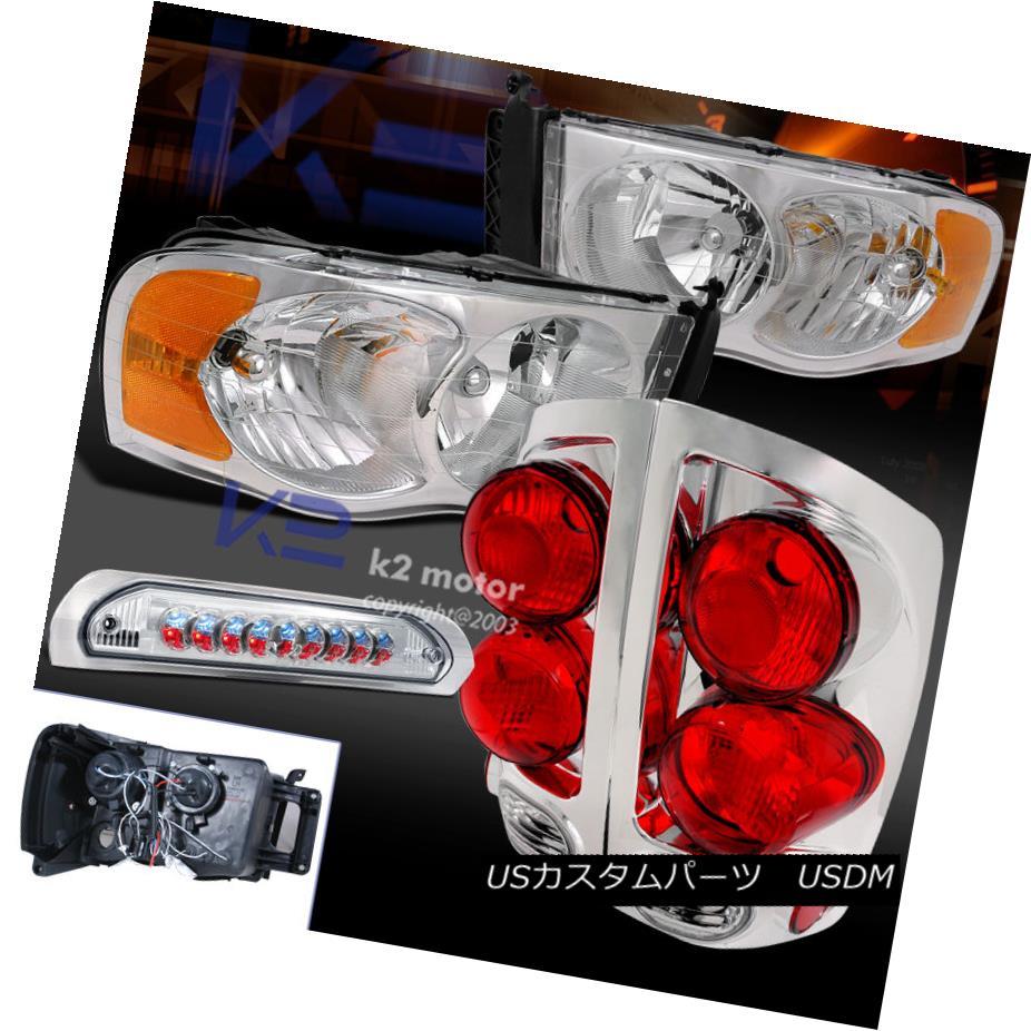テールライト HEADLIGHT 02-05 RAM 1500 RAM 2500 3500 3500 CHROME HEADLIGHT+3D STYLE TAIL LIGHT+3RD LED BRAKE LAMP 02-05 RAM 1500 2500 3500 CHROME HEADLIGHT + 3D STYLEテールライト+ 3RD LEDブレーキランプ, 豊科町:9ae532a8 --- officewill.xsrv.jp