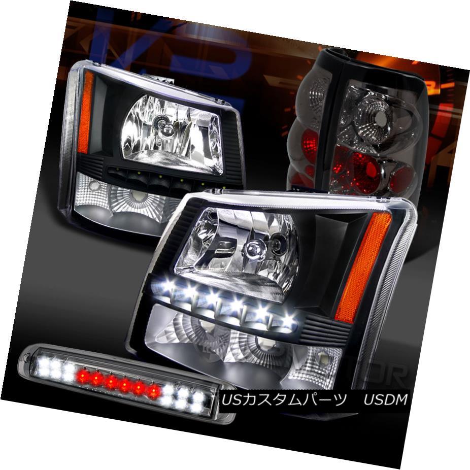 New 03-06 Silverado 04-06 Sierra Clear LED Tail Brake Lights Left /& Right Set