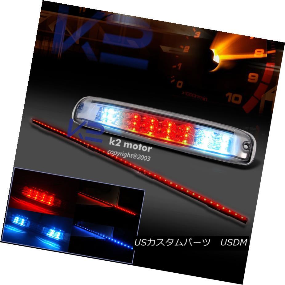 テールライト 1999-2006 Silverado Sierra Clear LED 3rd Brake Light+60