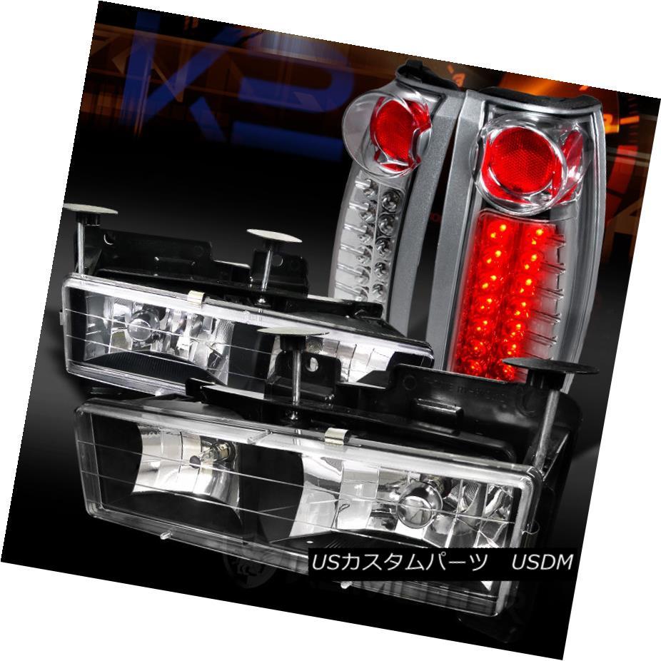 テールライト 88-98 Chevy Chr/GMC C Headlights+Chrome/K C10 Truck Black テールライト Headlights+Chrome LED Tail Lamps 88-98シボレー/ GMC C/ K C10トラックブラックヘッドライト+ Chr ome LEDテールランプ, 宅配タイヤ太郎:bf9bb1cc --- officewill.xsrv.jp