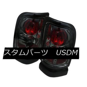 テールライト Dodge 94-01 Ram 1500/2500/3500 Smoke Euro Style Rear Tail Lights Brake Lamp Set ダッジ94-01 RAM 1500/2500/3500スモークユーロスタイルリアテールライトブレーキランプセット
