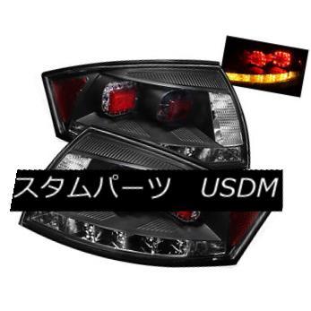 テールライト Audi 00-06 TT Black Housing LED Tail Brake Lights Performance Upgrade Audi 00-06 TTブラックハウジングLEDテールブレーキライトの性能向上