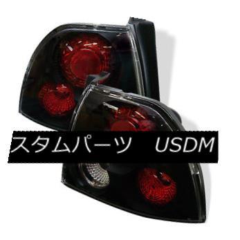 テールライト Honda 94-95 Accord Black Euro Style Rear Tail Lights Brake Lamp Set DX EX LX ホンダ94-95アコードブラックユーロスタイルリアテールライトブレーキランプセットDX EX LX