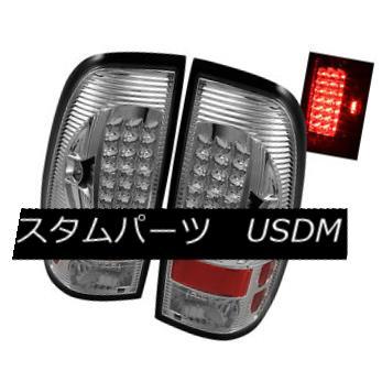 テールライト Ford 97-03 F150 99-07 F250/F350/F450/F550 SuperDuty Clear LED Tail Lights Set フォード97-03 F150 99-07 F250 / F350 / F450 / F550 SuperDutyクリアLEDテールライトセット