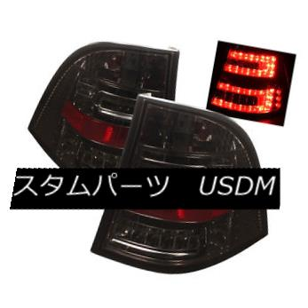 テールライト Mercedes Benz 98-05 W163 ML320/ML430/ML500 Smoke LED Tail Brake Lights Lamp メルセデスベンツ98-05 W163 ML320 / ML430 / ML 500 Smoke LEDテールブレーキライトランプ