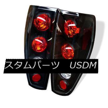 テールライト Chevy Colorado GMC Canyon 04-12 Black Euro Style Rear Tail Lights Set シボレーコロラドGMCキャニオン04-12ブラックユーロスタイルリアテールライトセット