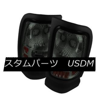 テールライト Dodge 94-01 Ram 1500/2500/3500 Smoked Tail Lights Brake Lamps Left & Right Set ドッジ94-01 RAM 1500/2500/3500スモークテールライトブレーキランプ左& 右セット